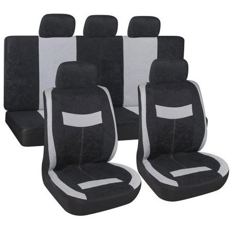 Купить Комплект чехлов на сиденья автомобиля SKYWAY Velvet-2