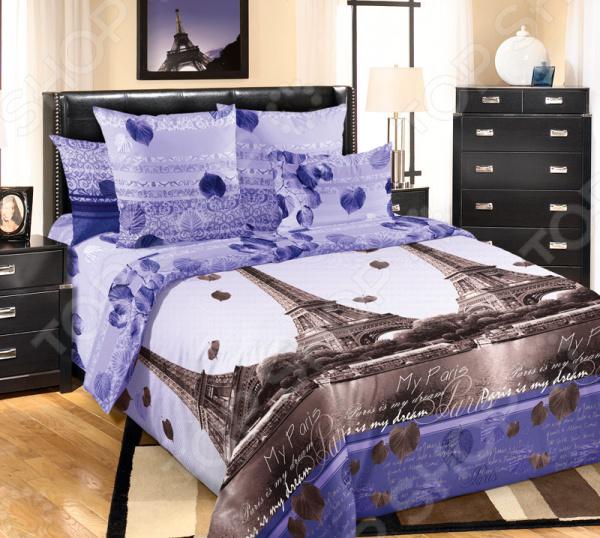 Комплект постельного белья Королевское Искушение «Романтика Парижа»