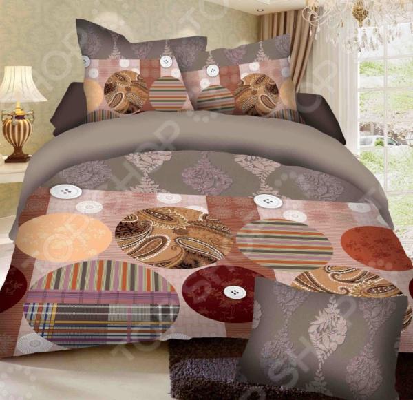 Комплект постельного белья Бояртекс «Рукодельница». 1,5-спальный