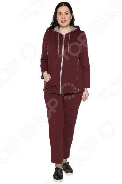 Костюм Алтекс «Звездный миг». Цвет: бордовый костюм алтекс домашняя забота цвет бежевый