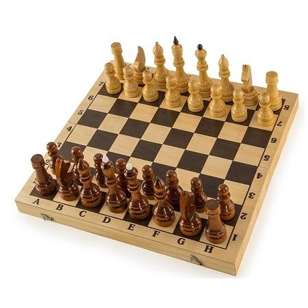 Купить Шахматы гроссмейстерские в комплекте с доской Колорит