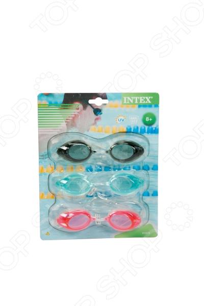 Очки для плавания детские Intex «Спортивные»