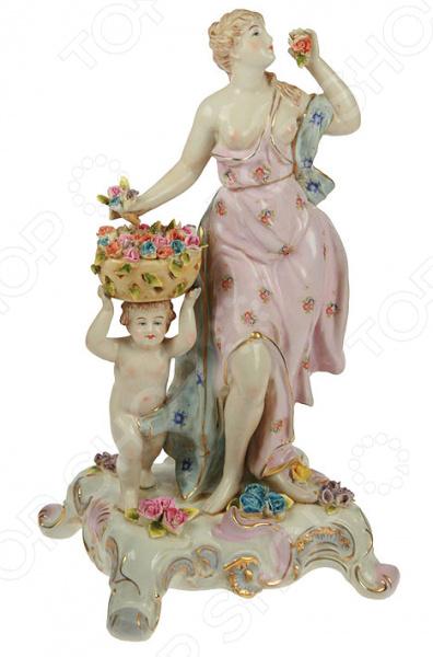 Статуэтка «Девушка и херувим»