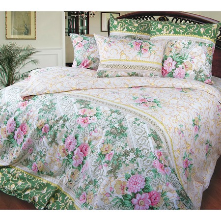 Купить Комплект постельного белья Королевское Искушение «Римский дворик». Тип ткани: перкаль
