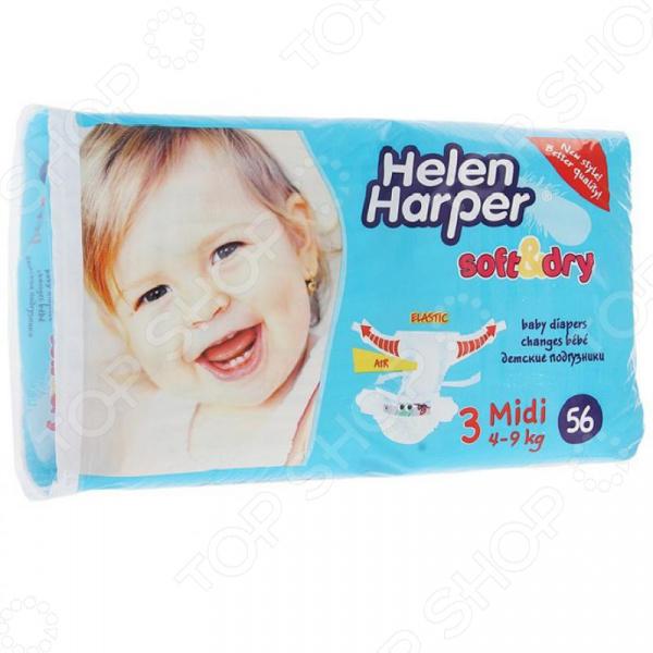Фото Подгузники Helen Harper Soft Dry midi (4-9 кг)