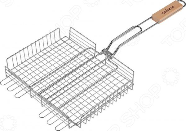 Решетка-гриль для мяса Grinda Barbecue 424711 решетка радиатора т4 москва