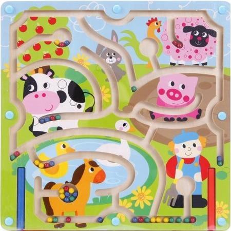 Купить Игрушка-лабиринт деревянная Mapacha «Домашние животные»