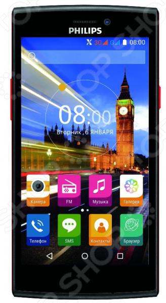 Смартфон Philips S337 смартфон philips s337 8712581736538