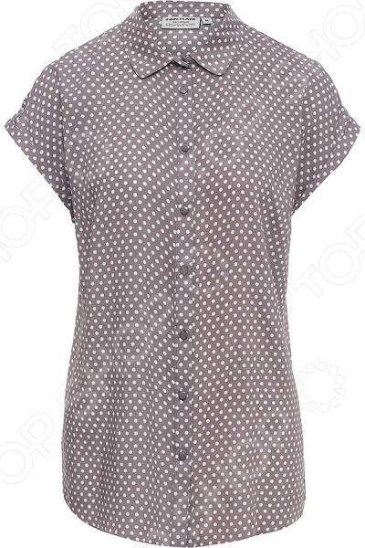 Блуза Finn Flare B17-11081. Цвет: мокко