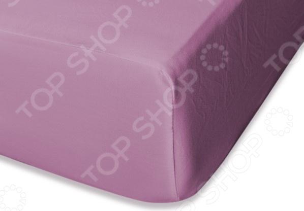 Простыня на резинке Cleo 025-MS простыня на резинке cleo 160х200 см cl