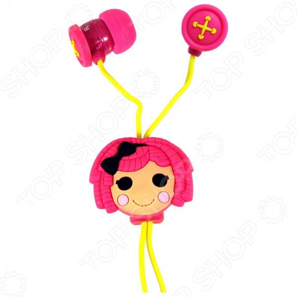 Наушники-вкладыши Jazwares Lalaloopsy пуговицы earbuds цена