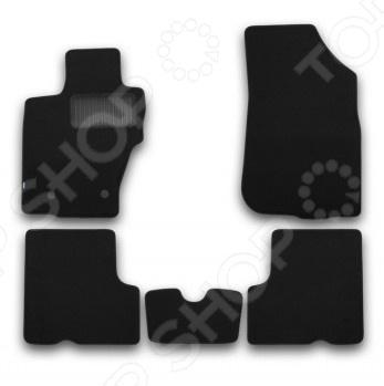 Комплект ковриков в салон автомобиля Klever Nissan Terrano 2014 б/р klever nissan sentra 2014 econom
