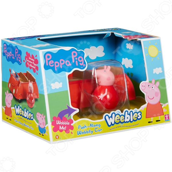 Игровой набор с фигуркой Peppa Pig «Машина Пеппы-неваляшки»