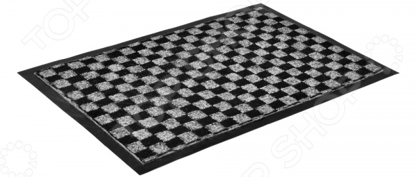 Коврик влаговпитывающий Vortex «Шашки» 22398 коврик влаговпитывающий vortex samba мозаика