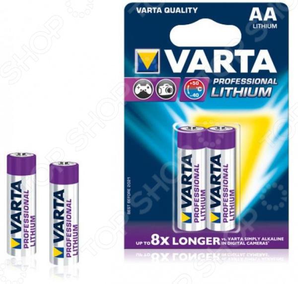 Элемент питания VARTA Professional AA 2 шт. элемент питания varta v 390 бл 1