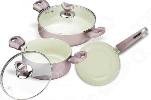 все цены на Набор кухонной посуды c внутренним керамическим покрытием Vitesse VS-2217