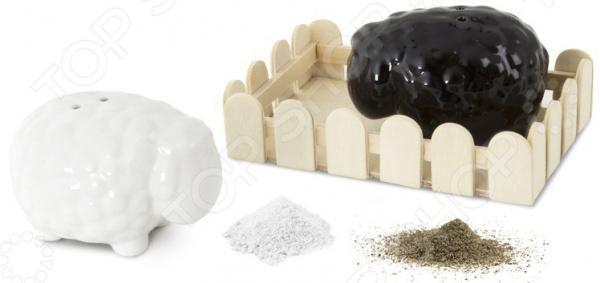 Солонка и перечница Balvi Black&amp White Balvi - артикул: 1031274