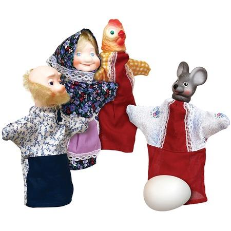 Купить Кукольный театр Огонек «Курочка Ряба». В ассортименте