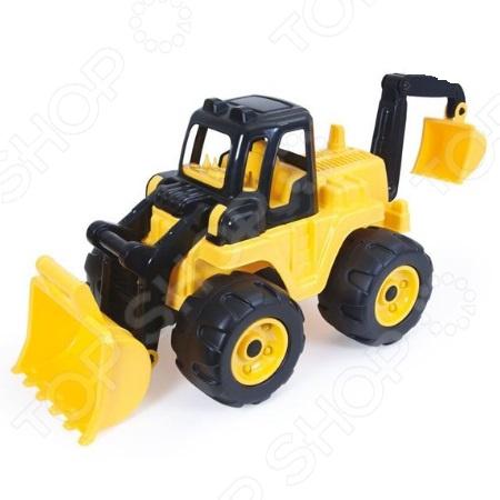 Машина игрушечная Dolu «Экскаватор с ковшом»