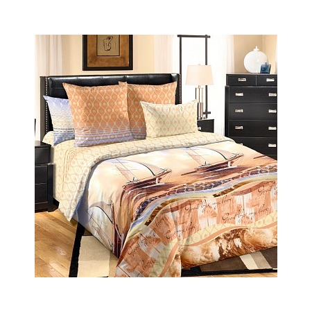 Купить Комплект постельного белья Королевское Искушение «Круиз». Евро