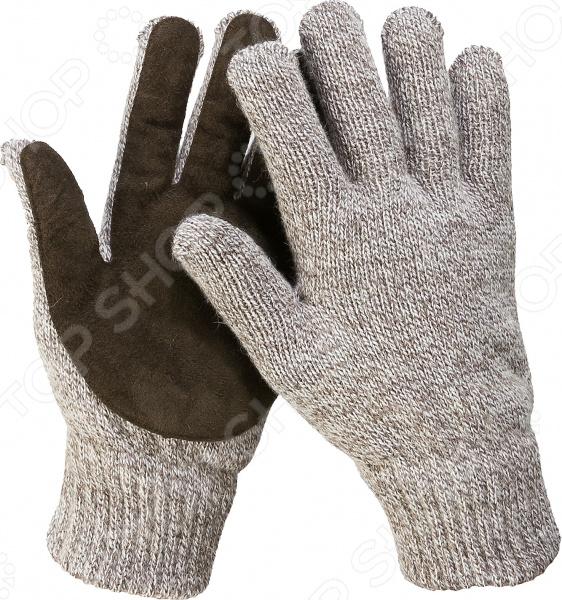 Перчатки рабочие утепленные Зубр «Профессионал. Полюс» перчатки утепленные зубр 11468 s флис подкладка спилк наладонник акрил полушерсть s m