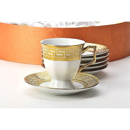 Купить Кофейный сервиз Loraine «Золотой Олимп»