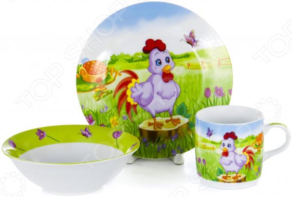 Набор посуды для детей OlAff Children C435