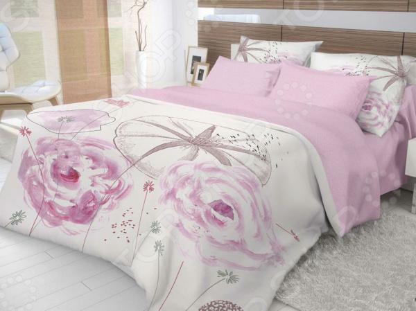 Комплект постельного белья Волшебная ночь Shell комплекты белья linse комплект белья