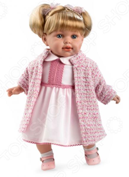 Кукла интерактивная Arias Elegance в одежде, с соской