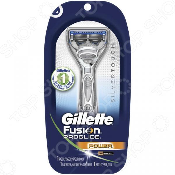 Бритва одноразовая и сменная кассета Gillette Fusion ProGlide Power