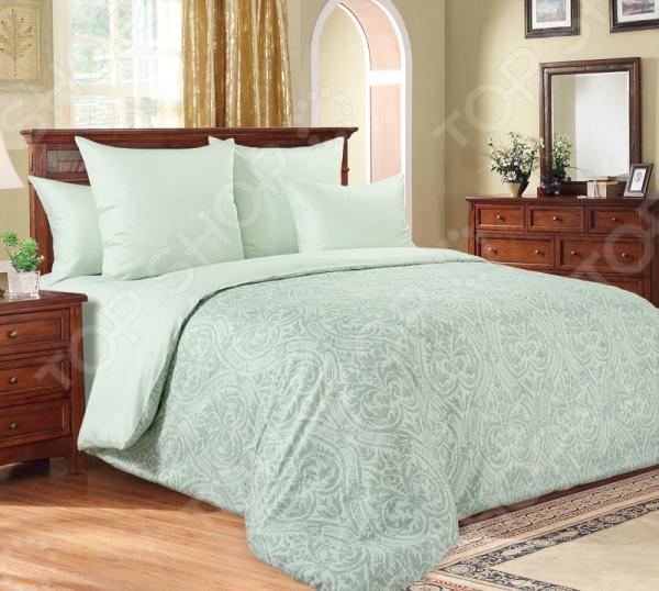 Комплект постельного белья Королевское Искушение «Илона». Тип ткани: сатин