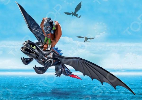 Конструктор игровой Playmobil «Драконы: Иккинг и Беззубик»