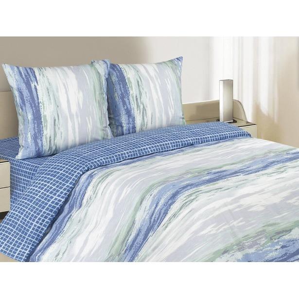 фото Комплект постельного белья Ecotex «Поэтика. Морской Бриз». Размерность: евростандарт