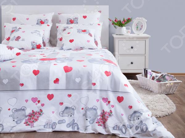 Комплект постельного белья Хлопковый Край «Нежность» 5310/1 комплект постельного белья хлопковый край валентинка 5024 1