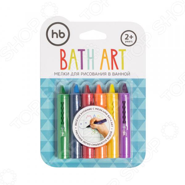 Набор мелков для ванны Happy Baby Bath Art