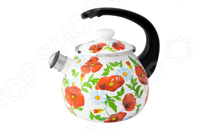 Чайник со свистком Idilia «Маковое поле» gipfel чайник для кипячения воды visit 2 7 л