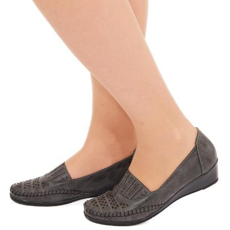 Купить Туфли EGO «Графиня». Цвет: серый