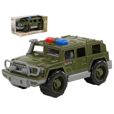 Купить Машинка игрушечная POLESIE «Джип военный патрульный. Защитник»