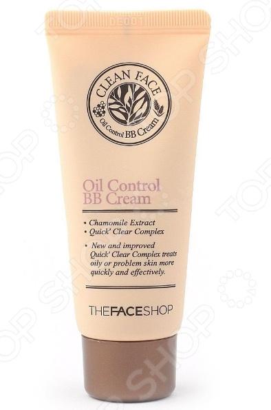 ВВ-крем для лица THE FACE SHOP Clean Face Oil какой крем для лица в индии