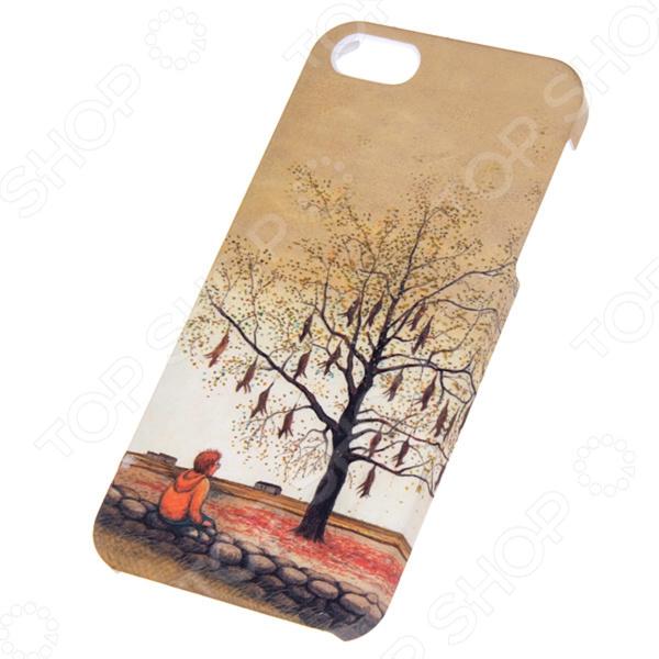 Чехол для iPhone 5 Mitya Veselkov Kafkafive-28 mitya veselkov тюльпановый принт чехол для apple iphone 5 5s