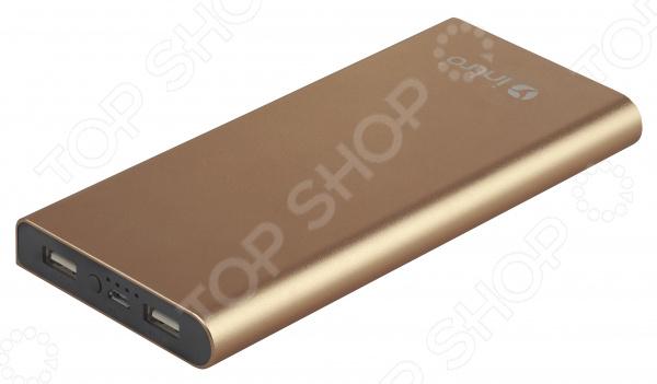 Аккумулятор внешний Intro PB10 внешний аккумулятор samsung eb pn930csrgru 10200mah серый