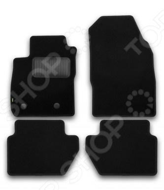 Комплект ковриков в салон автомобиля Klever Ford Ecosport 2014 Standard коврики в салон автомобиля klever standard для ford focus 2 2004 седан 4 шт