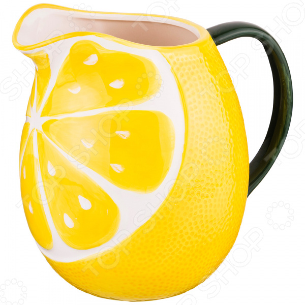 Кувшин Lefard «Лимон» 585-074 кувшин lefard лебедь