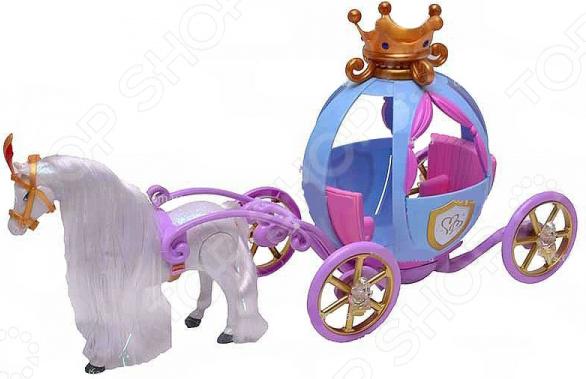 Карета для куклы с лошадью