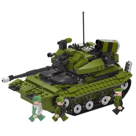 Купить Конструктор игровой 1 Toy «Военная техника. Боевой танк»