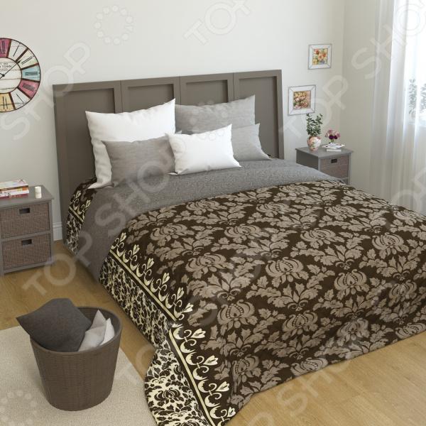 Покрывало стеганое Сирень «Давдия» желтое покрывало на кровать