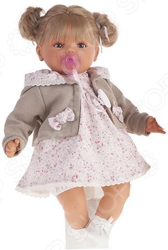 Кукла интерактивная Munecas Antonio Juan «Каталина блондинка» карапуз интерактивная кукла аленка блондинка цвет наряда розовый белый