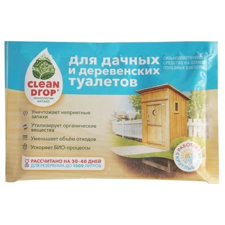 Биоактиватор для дачных и деревенских туалетов Clean Drop