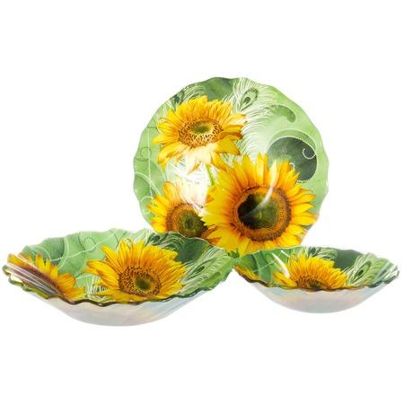 Купить Набор салатников OlAff «Цветы»