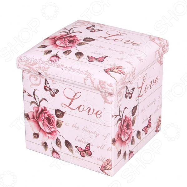 Пуф-короб для хранения Miolla Love Is The Beauty Miolla - артикул: 1699850